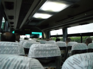 The Bus from the Narita Airport to the Tokyo Airport