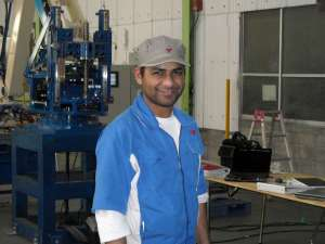 Vicrum, an India native living in Japan and working for Fuji