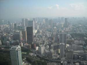 Another view from the Tokyo Tower